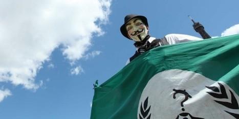 Les Anonymous se mettent au vert et attaquent Monsanto | Comportement durable | Scoop.it