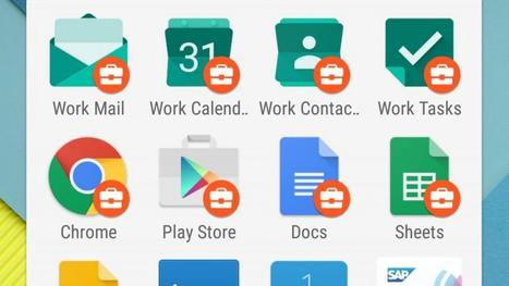 Google kondigt zakelijk Android-platform aan | Tools for a Digital Worker | Scoop.it