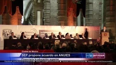 SEP propone acuerdo en ANUIEs. Financiaría la educación superior   Educación Superior   Scoop.it