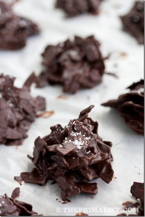 Salted Chocolate Coconut Stacks (Paleo) | food | Scoop.it