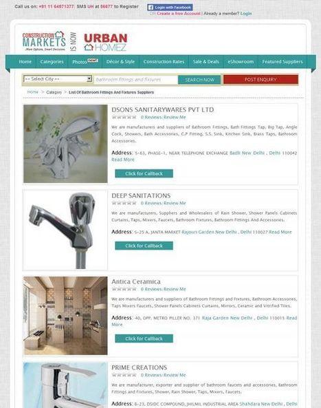 Bathroom Faucets manufacturers Delhi | Drainage Channel | Scoop.it