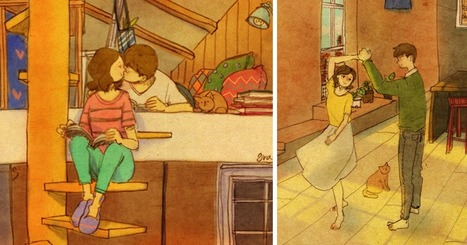 Love Is In The Small Things: New Illustrations By Korean Artist Puuung (20+ Pics) | Street Art | Scoop.it