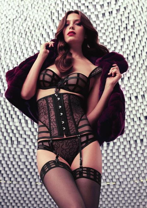 Aubade Collection Automne Hiver - French Lingerie | Les Dessous Chics | Scoop.it