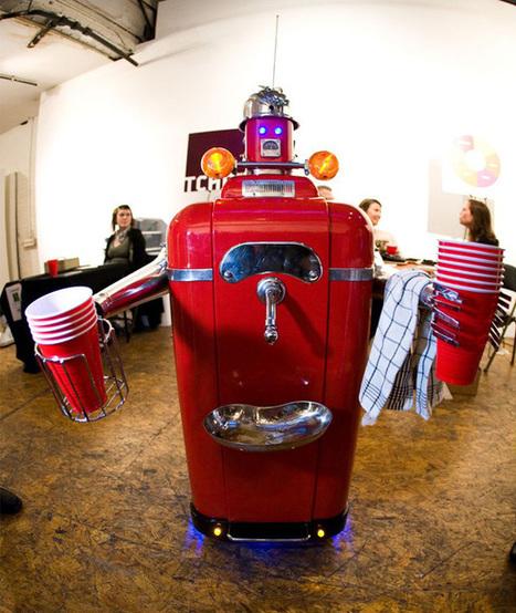 Des robots, des bières et de la mousse | Actualités robots et humanoïdes | Scoop.it