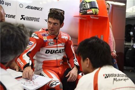 Ducati Corse: Injured Crutchlow To Be Replaced By Pirro In Argentina | Ductalk Ducati News | Scoop.it