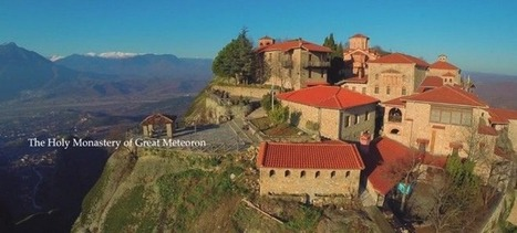 Πετώντας πάνω από τα Μετέωρα: #meteora #thessaly #Greece #drone | travelling 2 Greece | Scoop.it