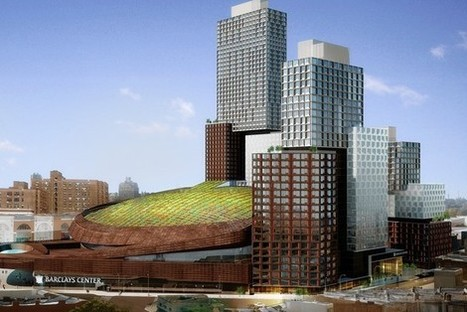 A roof grows on Barclays: The giant arena is getting its dome turned green—with plants | Real estate | Scoop.it