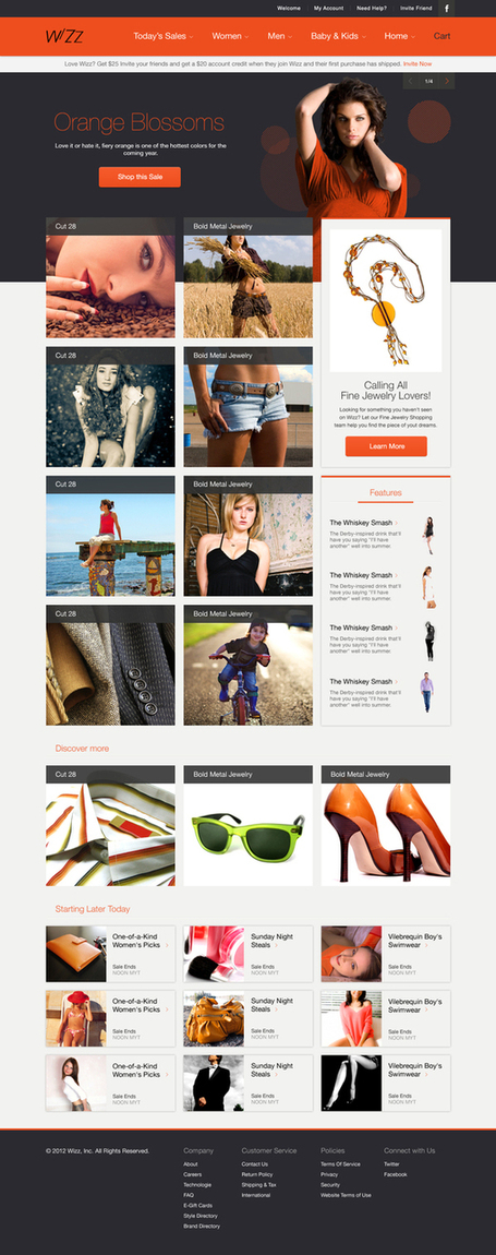 25 Creative Ecommerce Web Design Inspiration - Downgraf | Web and graphic design | Scoop.it