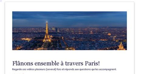 Flânons ensemble à travers Paris!   Chansons et vidéos   Scoop.it