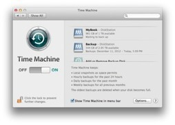 How to create redundant Time Machine backups | Macworld | Solo Idea | Scoop.it