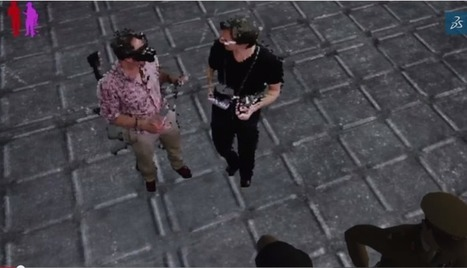 Never Blind In VR: Enhancing HMD Experiences with Augmented Virtuality | 4D Pipeline - trends & breaking news in Visualization, Virtual Reality, Augmented Reality, 3D, Mobile, and CAD. | Scoop.it