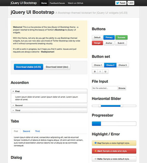 How to use Twitter Bootstrap to Create a Responsive Website Design | Twitter Boostrap | Scoop.it