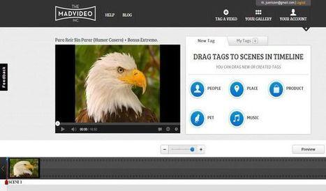 The Mad Video, utilidad web para editar vídeos de YouTube añadiéndole etiquetas interactivas | Recull diari | Scoop.it