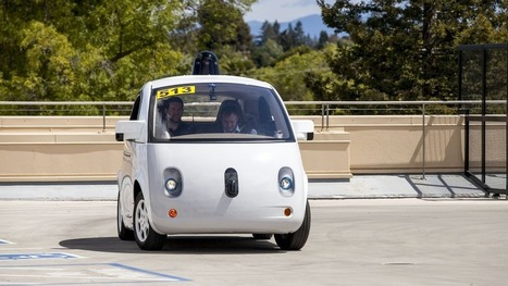 Google self-driving cars don't need windshield wipers | Informática Educativa y TIC | Scoop.it