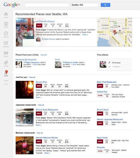 New Google+ Local Tab Unveiled, Will Replace Google Places | Go Mobile Social Local Today  | GoMoSoLo | Scoop.it