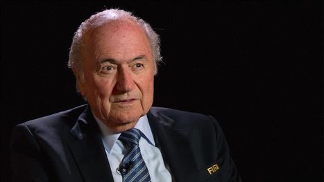 Putin Gives the Crimea Kiss of Death to Blatter the Corrupt Blatherer @youarecorrupt | Culture, Humour, the Brave, the Foolhardy and the Damned | Scoop.it