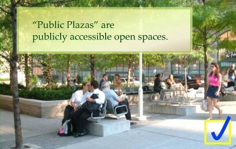 Privately Owned Public Space - NYC Dept of City Planning   Geography Education   Scoop.it