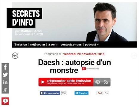 S'il n'y avait qu'un billet à lire sur les racines des attentats, c'est celui-ci, tout y est #EI #Daech #IS #ISIS - France Inter | 694028 | Scoop.it