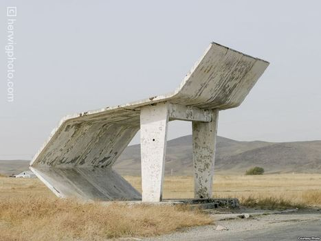 Roadside Temples: Unusual Bus Stops Of The Soviet Era | Street installations with attitude | Scoop.it