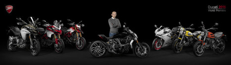 Ducati World Première 2016 | Motorcycle Industry News | Scoop.it