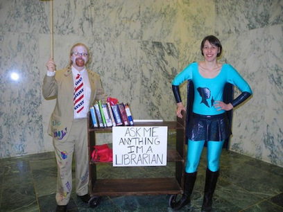10 of the Coolest Librarians Alive – Flavorwire | The Information Professional | Scoop.it