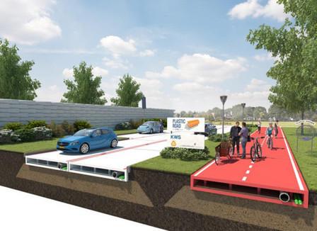 Rotterdam estudia reciclar botellas de plástico para construir calles | retail and design | Scoop.it