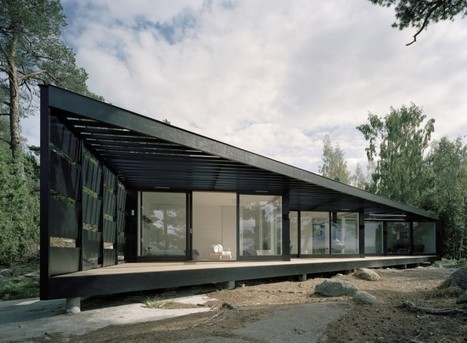 Responding to the Landscape: Archipelago House by Tham & Videgård Arkitekter | sustainable architecture | Scoop.it