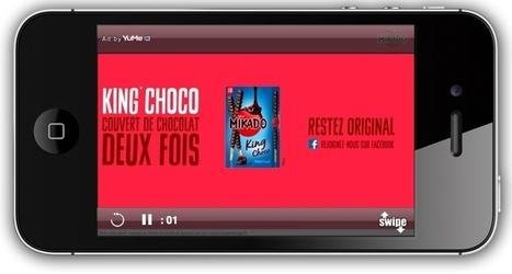 Mondelez teste un nouveau format publicitaire mobile | Quoi de neuf dans le Marketing Digital? | Scoop.it