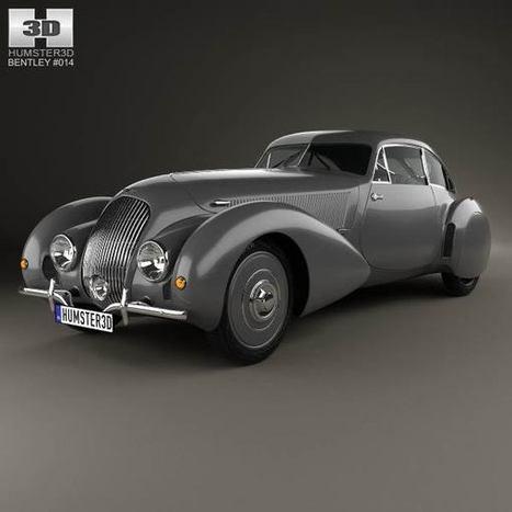 3D model of Bentley Embiricos 1938   3D models   Scoop.it