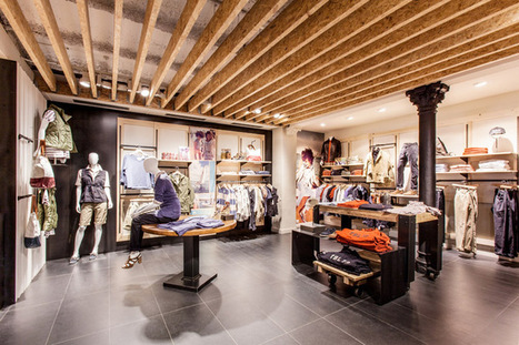 Timberland store by Green Room, Barcelona - Home2s.com | Interior Designs | Scoop.it