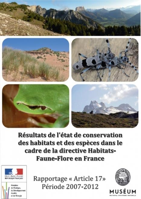 Résultats de l'état de conservation des habitats et des espèces dans le cadre de la directive Habitats-Faune-Flore en France | EntomoNews | Scoop.it