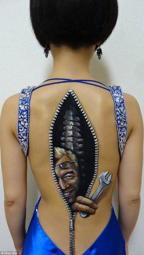 Body art done by a 19 year old Japanese girl - Imgur | Tattoo art | Scoop.it
