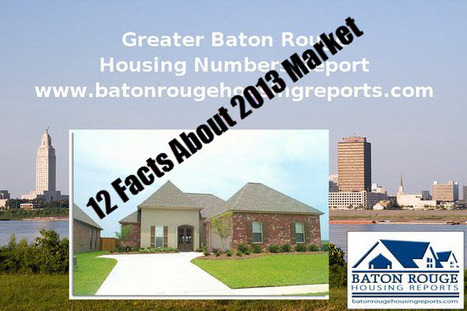 12 Baton Rouge Real Estate 2012 Housing Market Facts | 49 Beatrice Street, Mooroobool | Scoop.it