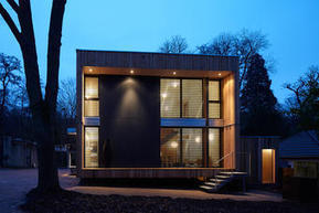 [inspiration] Maison cube en bois bioclimatique | Le flux d'Infogreen.lu | Scoop.it