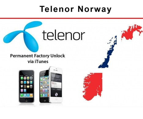 iPhone Unlock Service Norway Telenor - iPhone 3G,3GS,4,4S ,5 (Premium Service) | iCentreindia.com | iPhone Unlock Service | Scoop.it