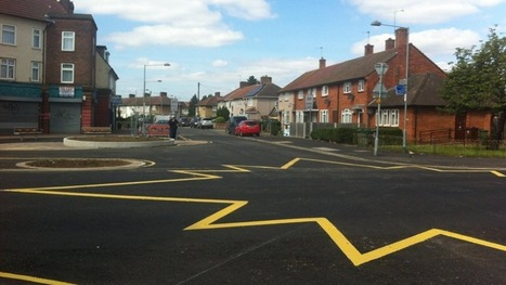 Star-shaped road marking sparks confusion in Dagenham | UK Highways | Scoop.it