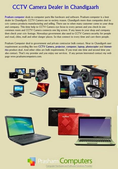 CCTV Camera AMC Services Chandigarh : what we are dealing?   Projector Dealers in Chandigarh - Prasham Computer   Scoop.it
