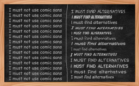 25 Free Comic Fonts to Use Instead of Comic Sans | Website Designing, Development, HTML, CSS, | Scoop.it