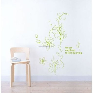 We Can Only Learn To Love By Loving Flower Wall Decals – WallDecalMall.com | Flower Wall Decals | Scoop.it