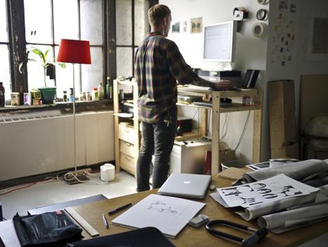 Los beneficios de los escritorios elevados | TECNOLOGÍA_aal66 | Scoop.it