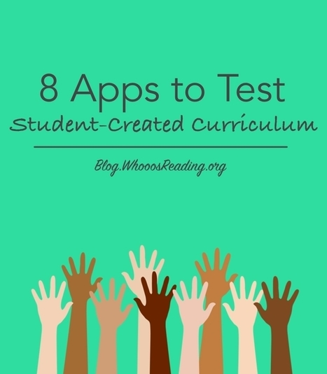 Edtech PK-12 - 8 Apps for Testing Student-Created Curriculum | Educational Technology Applications | Scoop.it