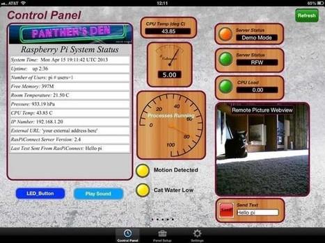 Controla tu Raspberry desde el iPad | iPad classroom | Scoop.it
