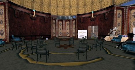Aether Salon of New Babbage - Babbage Palisade - Second Life | Art & Culture in Second Life - art Exhibitions, Literature, Groups & more | Scoop.it