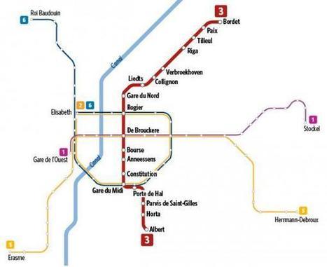 Stib: une nouvelle ligne de métro jusqu'à Evere dès 2024 (plan) | Mobilité à Bruxelles | Scoop.it