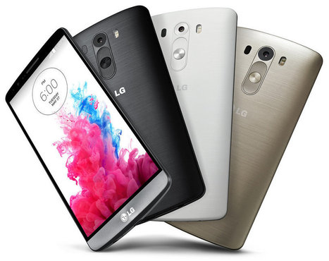 LG G3 announced - 5.5-inch QHD display, 13MP OIS laser AF camera | Latest Tech & Gadgets News | Scoop.it