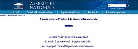 Délégation de l'Assemblée Nationale en visite au Japon | Japon : séisme, tsunami & conséquences | Scoop.it