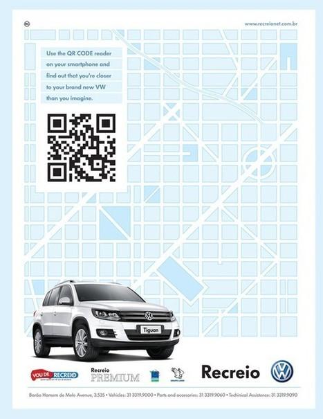 Volkswagen : un QR Code qui géolocalise la concession la plus ... | | Adaptive Architectures | | Scoop.it