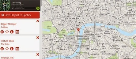 Maps Mania: Sounds of the City | MUSIC:ENTER | Scoop.it