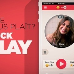 PLAYME ! : quand le dating flirte avec le gaming | Benchmark Mobile User Interface | Scoop.it