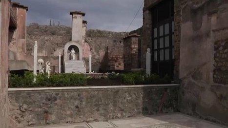 Des maisons renaissent de leurs cendres à Pompéi   Référent numérique   Scoop.it